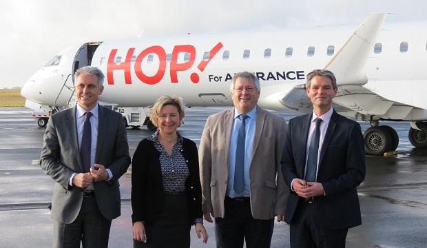 Aéroports de Caen : +38,98 % en 5 ans !