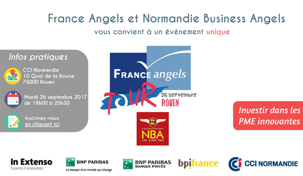 Le « France Angels Tour » à Rouen