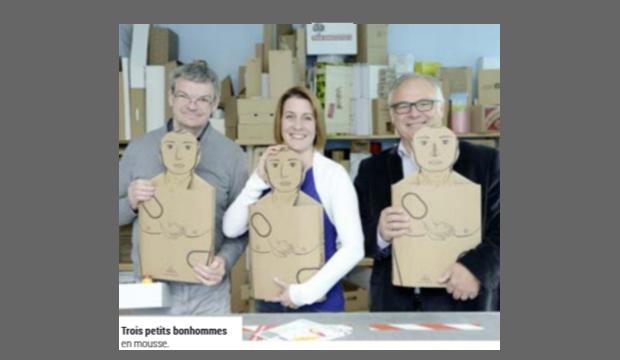 Conjuguant pédagogie et emballages en carton, une PME mortagnaise sort du lot