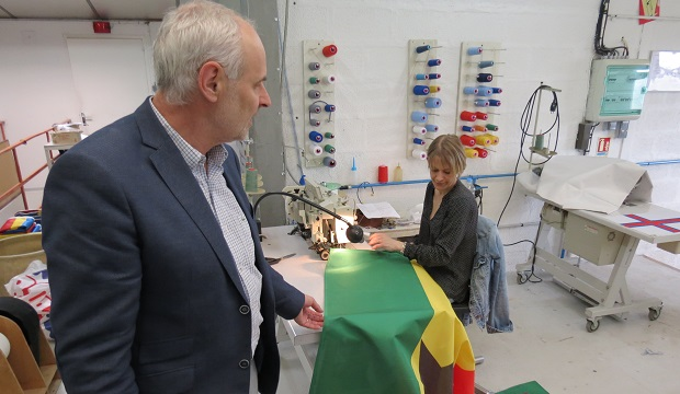 Le Crédit Agricole Normandie à la rencontre des entreprises du territoire… Visite chez Borney à Argentan