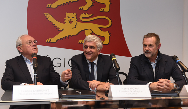 Normandy Venture : Signature d'un partenariat entre Normandie participations et les business angels normands !