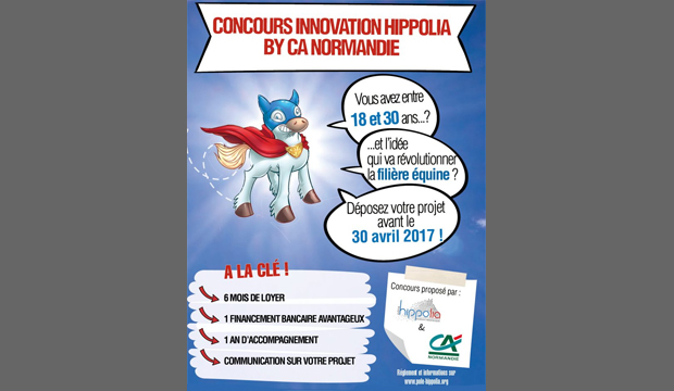 Concours innovation Hippolia by CA Normandie
