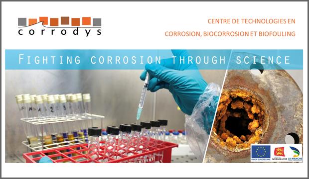 Depuis Cherbourg, Corrodys traque la corrosion pour les industriels
