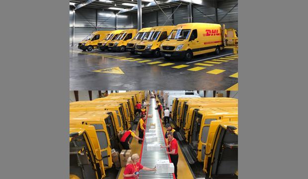 DHL investit 1,5 million d'euros en Seine Maritime