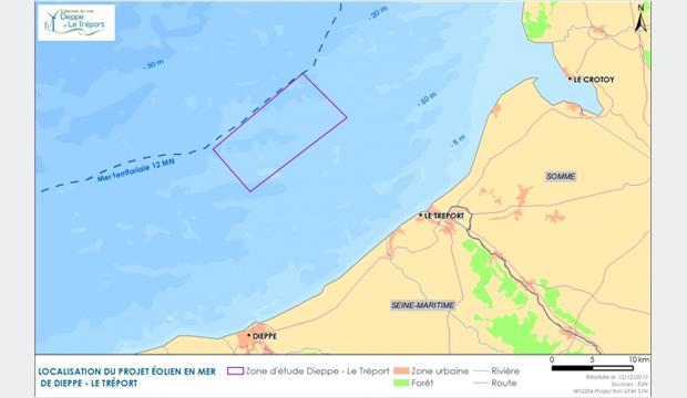 Eolien en mer : Dieppe  – Le Tréport poursuit son avancée