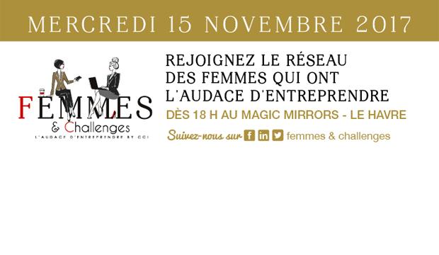 Soirée Audacieuse #1 Femmes & Challenges : le lancement !