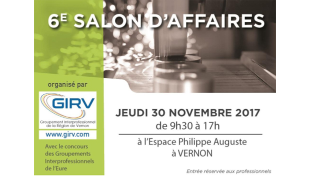 6ème édition de son Salon d'Affaires du GIRV