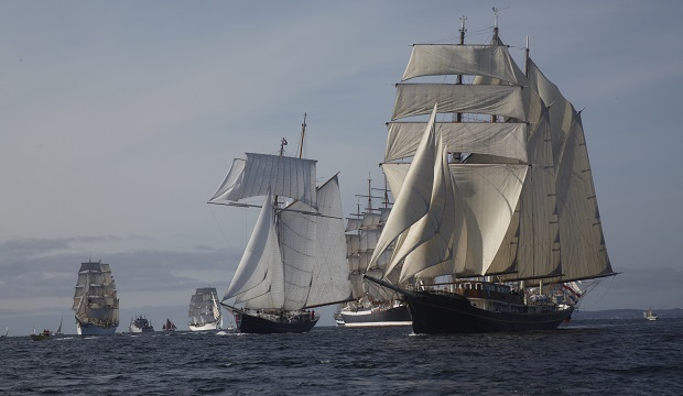 Les plus grands voiliers du monde au Havre pour ses 500 ans ! [AUDIO]