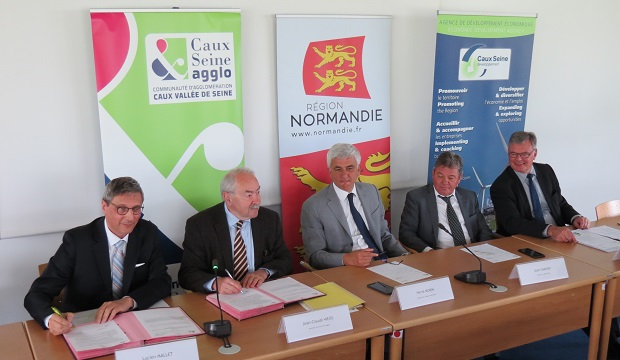 H2V Product à Port-Jérôme (76) : 450 millions d'€ d'investissement et 180 emplois dès 2022 !