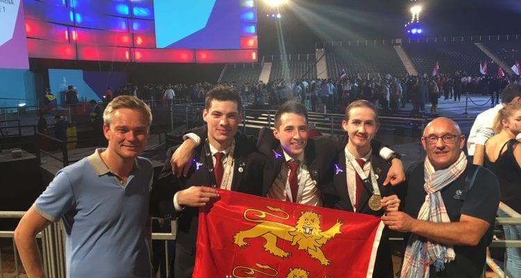 La Normandie décroche cinq médailles à la Finale mondiale des Olympiades des métiers à Abu Dhabi