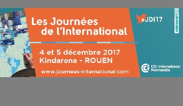 Journées de l'International : rendez-vous les 4 et 5 décembre au Kindarena de Rouen