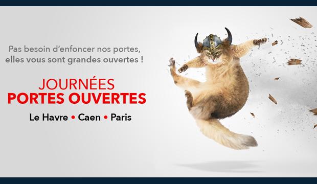 L'EM Normandie ouvre ses portes  à Caen, Le Havre et Paris