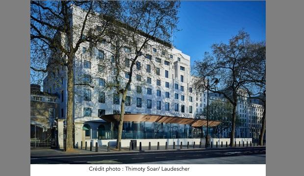 Laudescher, entreprise de Carentan (50) habille le nouveau siège de Scotland Yard