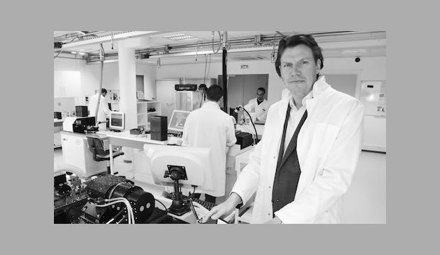 Interview d'Emmanuel Veillard, du laboratoire LCS à Caen (14)