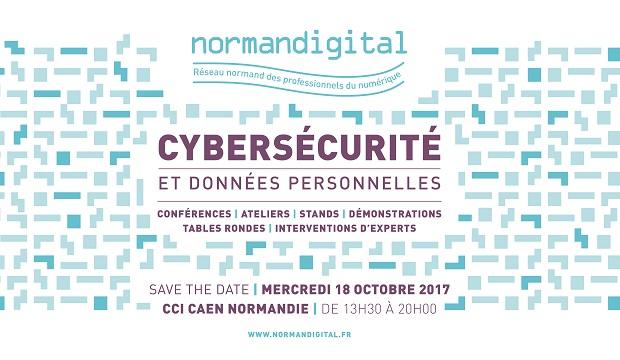 """NORMANDIGITAL """"Cybersécurité & données personnelles"""""""