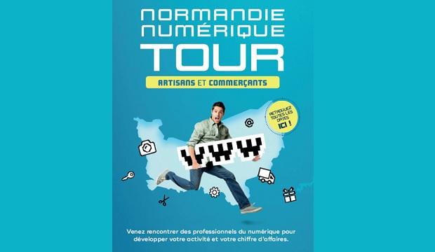 Normandie Numérique Tour, pour une économie 4.0