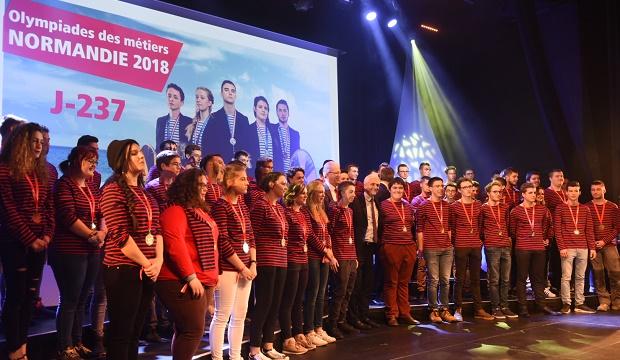 61 Normands sélectionnés pour les Finales Nationales des Olympiades des Métiers à Caen