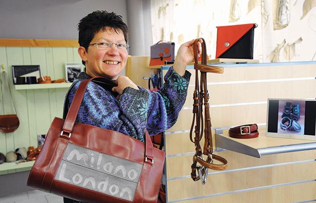 La Chapelle-Montligeon (61) : la passion du cuir