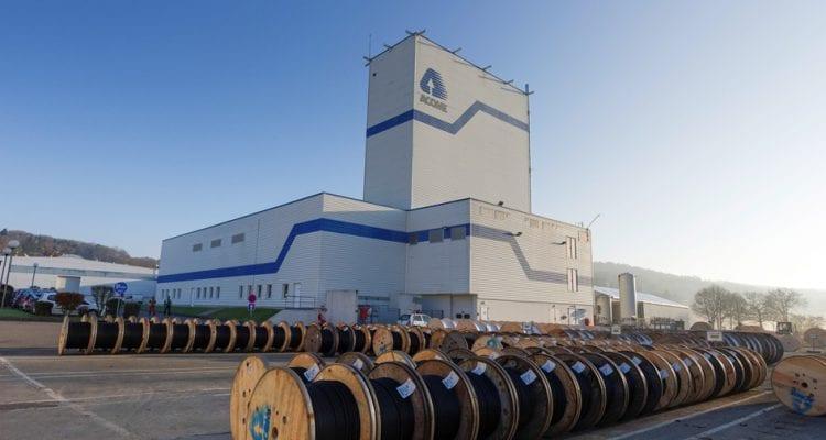 Depuis Mortain (50), Acôme exporte ses câbles dans le monde entier