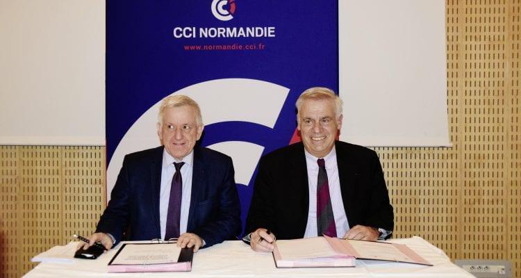 Les académies et les CCI Normandes en action