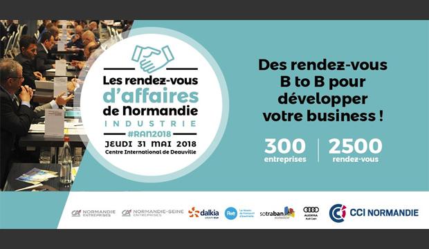 Les Rendez-vous  d'Affaires de Normandie édition 2018 !