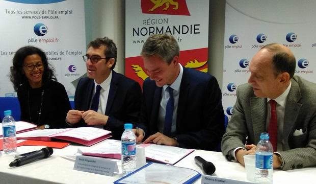 Normandie – La Région et Pôle Emploi contractualisent pour plus de performance