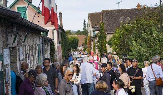 Giverny : 250 000€ pour sécuriser le 2ème site touristique de Normandie