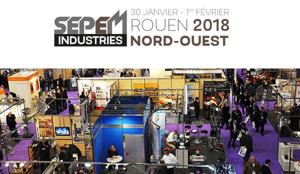Salon Sepem Industries Nord-Ouest à Rouen