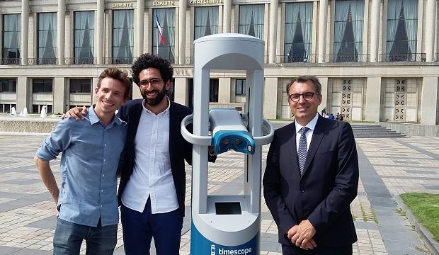 e-tourisme : la ville du Havre se dote d'un mobilier urbain interactif à l'occasion de ses 500 ans