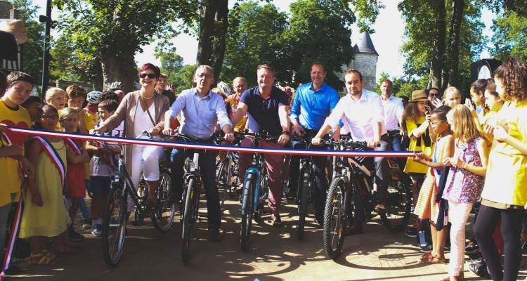 «La Seine à vélo» : les premiers kilomètres inaugurés