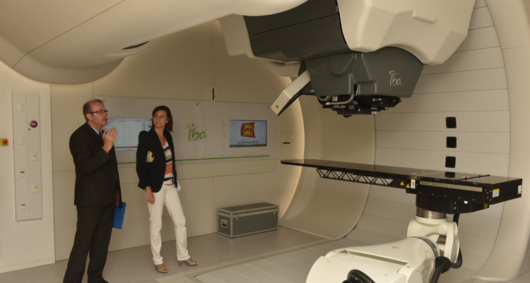 lnauguration du Centre européen de recherche et de traitement en hadronthérapie de Caen-Normandie