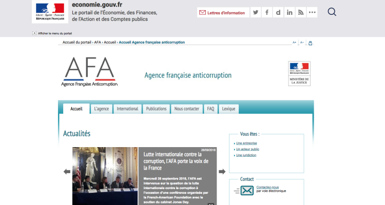 AFA - anticorruption