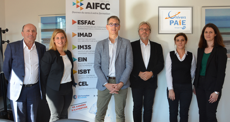Univers PAiE et le Groupe AIFCC s'associent pour le recrutement et la formation de 10 gestionnaires de paie.