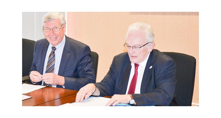 La CCI Ouest-Normandie signe une convention avec la Chambre de Métiers de l'Artisanat de La Manche
