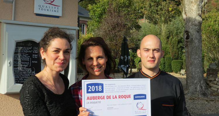 L'Auberge de la Roque certifiée NQT, un an après son ouverture