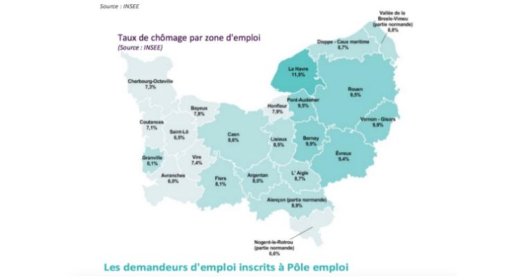 Situation du marché du travail en Normandie au 3e trimestre 2018