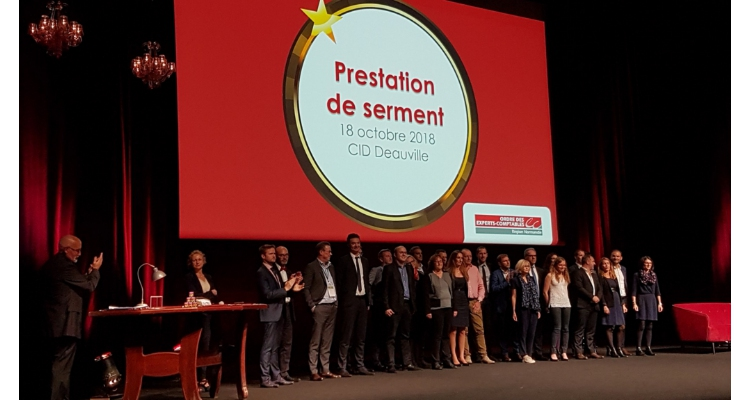 Prestation de serment pour 21 experts-comptables normands
