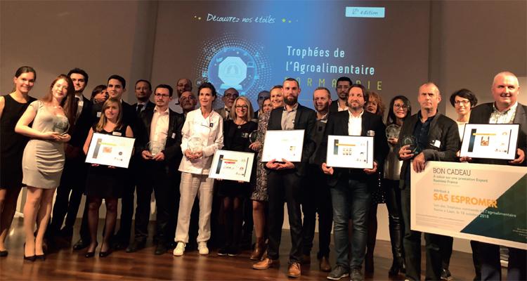 Trophées de l'Agroalimentaire 2019 : 10 entreprises normandes lauréates