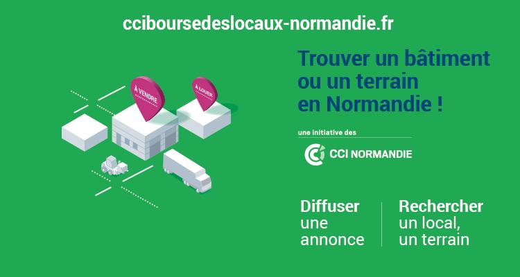 Un local professionnel en Normandie ?  Pensez cciboursedeslocaux-normandie.fr