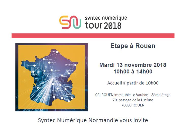 Le SYNTEC Numérique Tour à Rouen