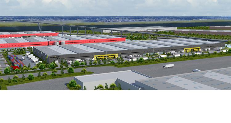 Le Havre : le groupe Panhard réalise un bâtiment de près de 49 000 m², dont 24 450 m² pour le compte de MEDIACO VRAC