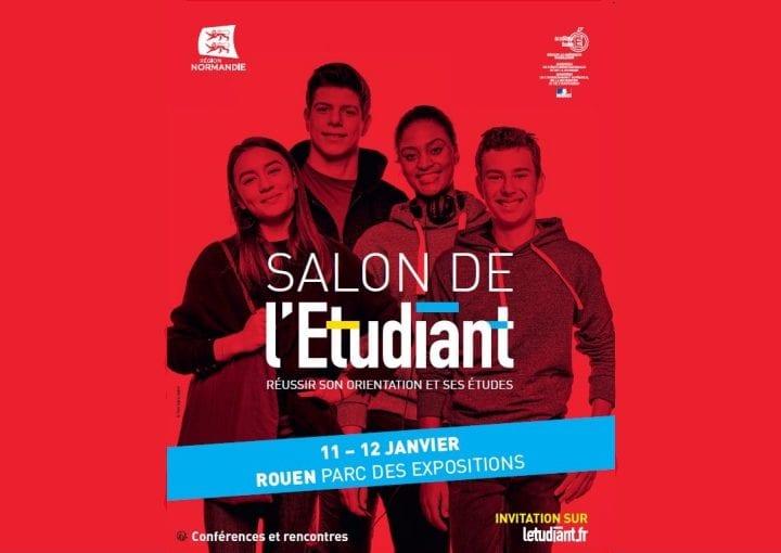 Salon de l'Etudiant de Rouen, les 11 et 12 janvier 2019