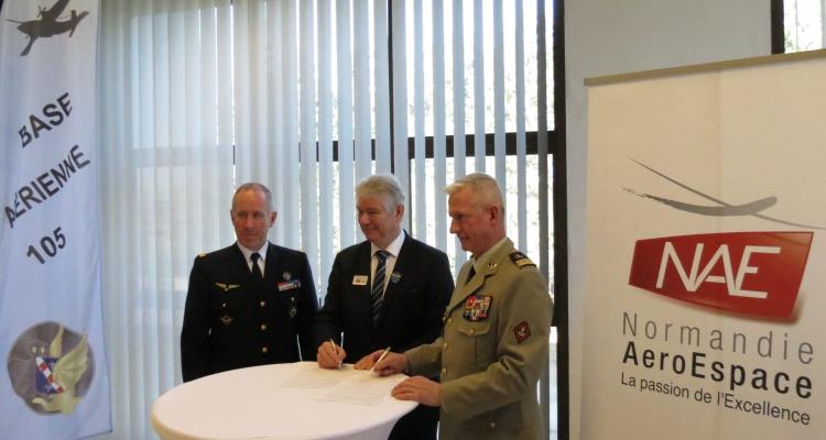 Les entreprises de NAE et l'Armée s'engagent dans une charte d'engagements réciproques