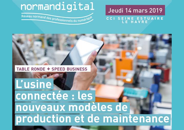 Normandigital : innover & collaborer pour mieux produire