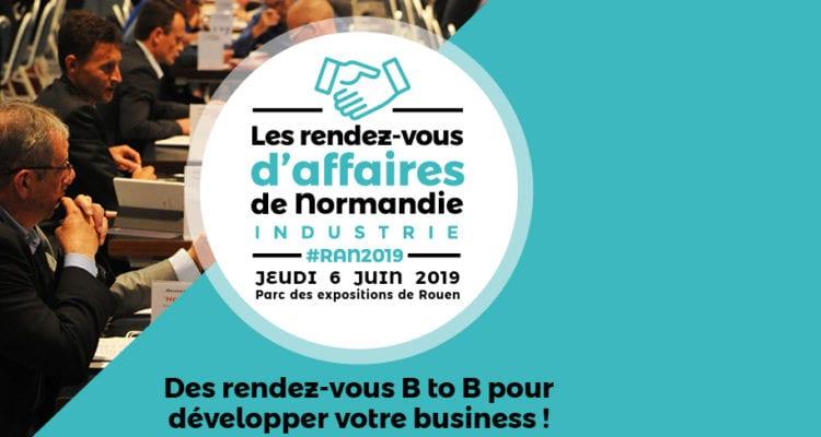 Rendez-vous d'affaires le 6 juin 2019 : BtoB made in Normandie