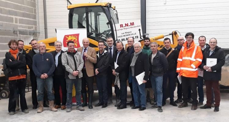 Signature d'une convention entre la Cellule Economique et Régionale de la Construction de Normandie (CERC) et la Région Normandie