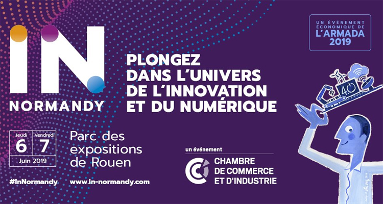 Soyez IN les 6 et 7 juin au Parc des expositions de Rouen !