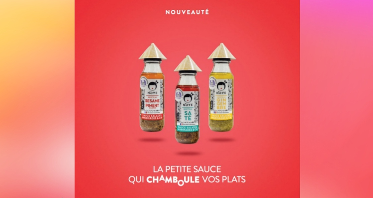 La sauce N'OYE gingembre, fabriquée à Saint-Lô, lauréate 2019 du Snacking d'Or by France Snacking
