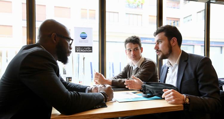 Les Cafés de la création : être créateur de liens et acteur moteur de la création d'entreprises sur le territoire