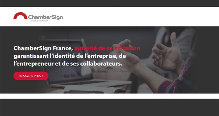 Certificat électronique : la CCI Seine-Estuaire relance ChamberSign, une signature unique pour les démarches de l'entreprise